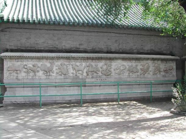 12 animals chinese zodiac beijing bai yun guan