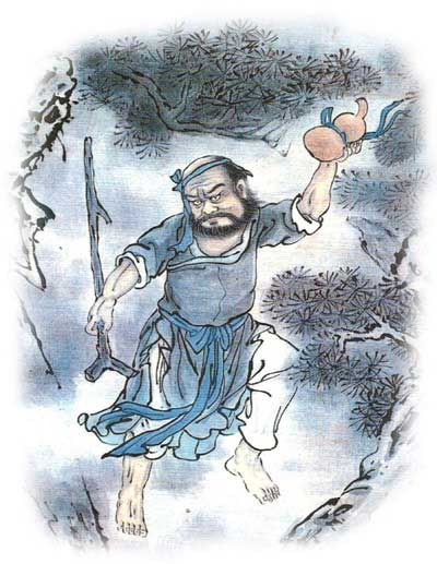 L'Immortale con zucca e bastone Qigong per la prevenzione delle cadute Ars Magna
