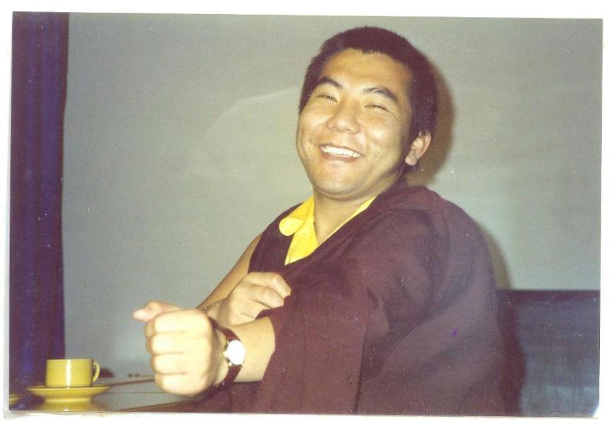Jamgon Kongtrul Rinpoche 1988