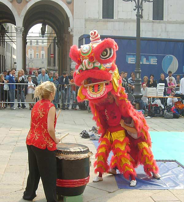 lion dance memorial olivieri 2004