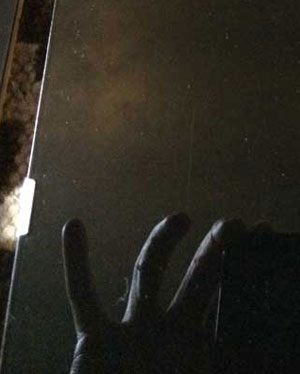 specchio magico ars magna vetri neri