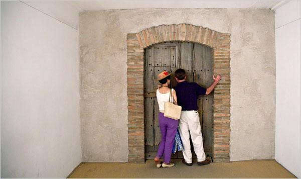 duchamp porta visitatori
