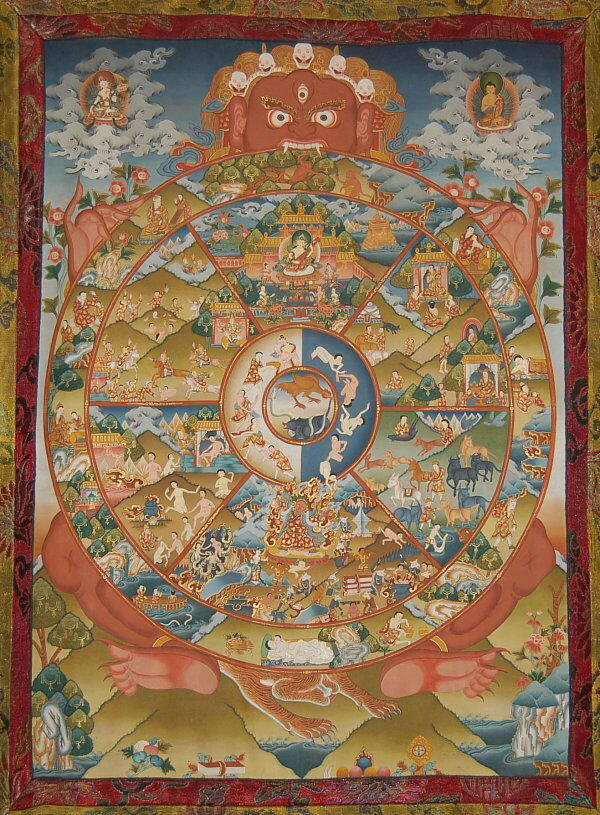 yama wheel of life chain of conditioned existences